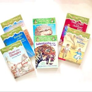 7 Magic Tree House Book #16,17,18,23,25 2 Research